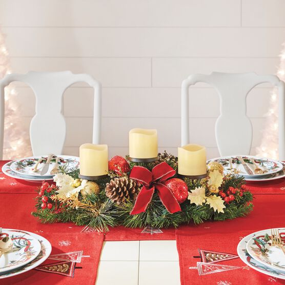 Pre Decorated Candle Holder Centerpiece Swimsuits For All