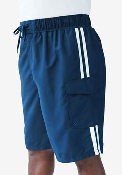 Double Stripe Board Shorts,