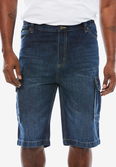 Liberty Blues™ Denim Cargo Shorts,