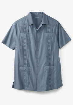 KS Island™ Short-Sleeve Guayabera Shirt,