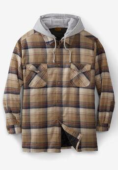 Boulder Creek® Removable Hood Shirt Jacket,