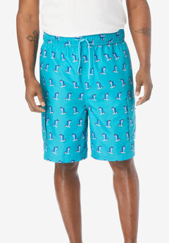 KS Island™ Printed Cargo Swim Trunks,