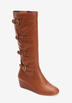 The Frankie Wide Calf Boot by Comfortview®,