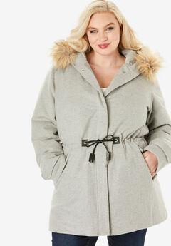 Anorak Puffer Coat,