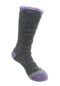 Solid Color Thermal Sock Socks,