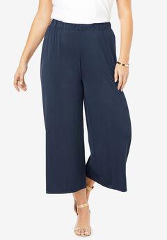 Ultrasmooth® Wide-Leg Crop Pant,