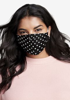 2-Layer Reusable Cotton Face Mask - Women's,