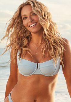Camille Kostek The Camille Underwire Bikini Top, CAMILLE BLUE