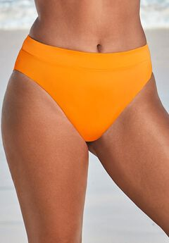 High Leg Swim Brief, ORANGE