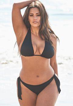 Ashley Graham Elite Triangle Bikini Set,