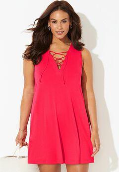 Fiona V-Neck Cover Up Dress, SALSA