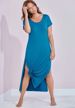 Naya Knotted Maxi Dress Cover Up,