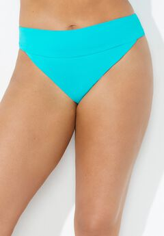 High Cut Cheeky Swim Brief, HAPPY TURQ