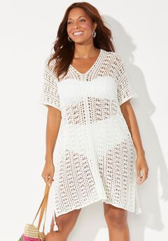 Ada Crochet Cover Up Tunic,