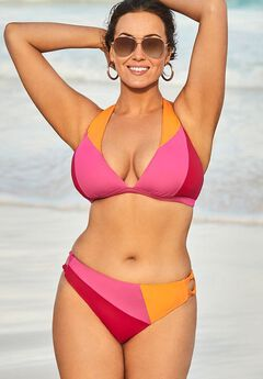 Romancer Colorblock Bikini Set,