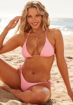 Camille Kostek Classic String Bikini Set,