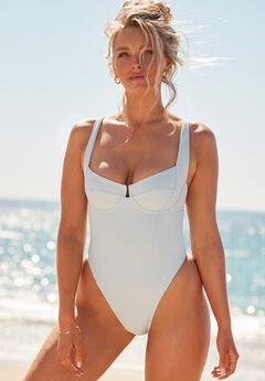 Camille Kostek She's Iconic Underwire One Piece,