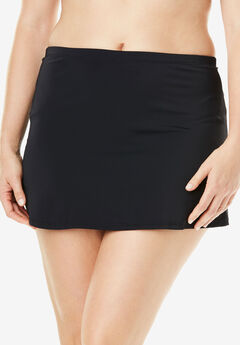 Side Slit Swim Skirt,