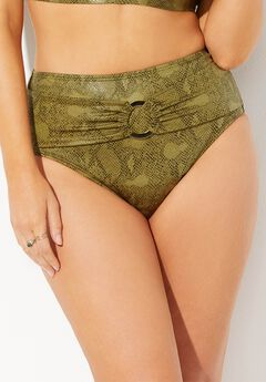 GabiFresh Primal High Waist Bikini Bottom,