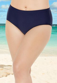 Chlorine Resistant Lycra Xtra Life Full Coverage Brief, NAVY