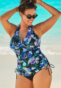 Adjustable Underwire Tankini Set,