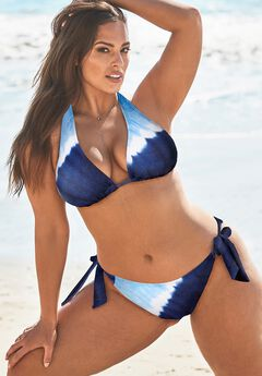 Ashley Graham Elite Triangle Bikini Set,