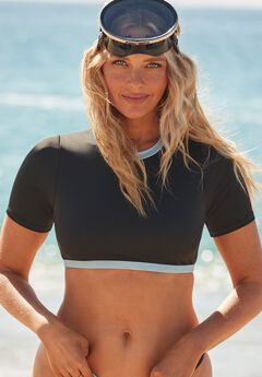 Camille Kostek Scuba Dream Bikini Top, MIDNIGHT CAMILLE BLUE