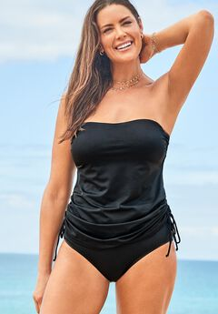 Bandeau Adjustable Tankini Set,