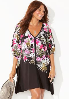 Kelsea Cover Up Tunic, GARDEN PARTY