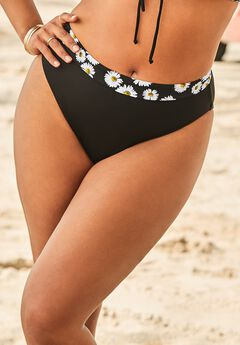 Ashley Graham High Waist Bikini Bottom,