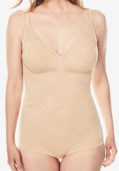Smooth Lace Body Briefer ,