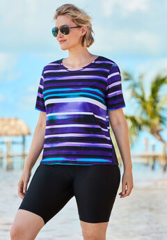 Colorblock Swim Tee ,