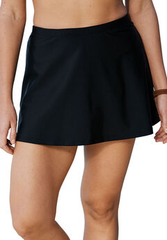 A-Line Swim Skirt with Built-In Brief by Swim 365,