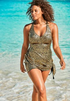Multi-Style Convertible Swim Dress ,