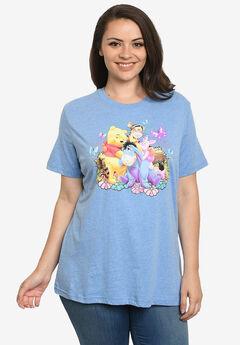 Winnie The Pooh Eeyore Tigger Piglet T-Shirt,