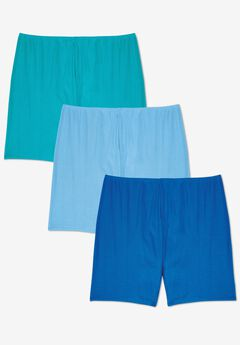 3-Pack Cotton Bloomer ,