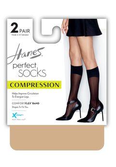 Perfect Diamond Compression Socks 2-Pack,