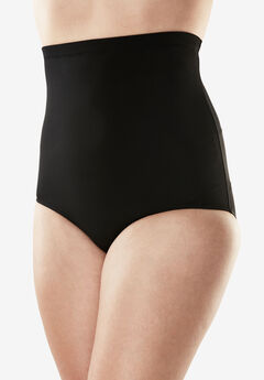 High-Waist Swim Brief with Tummy Control by Swim 365,