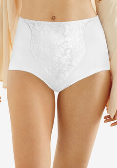 Light Control Lace Panel Brief 2-Pack ,