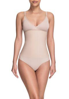 Celebrity Style Soft Cup Bodysuit,