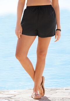 Taslon® Coverup Bottom with Elastic Waist by Swim 365,