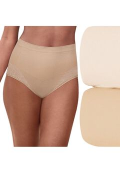Comfort Revolution Firm Control Brief 2-Pack ,
