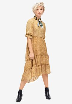 High-Low Tiered Dress by ellos®,