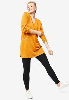 Zip-Pocket Sweatshirt by ellos®,