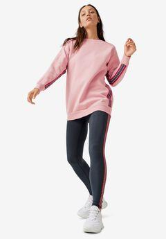 Side-Stripe Tunic Sweatshirt by ellos®,