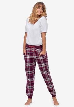 Plaid Flannel Sleep Pants,