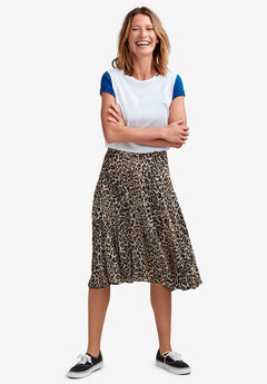 Soft Pleated Skirt,