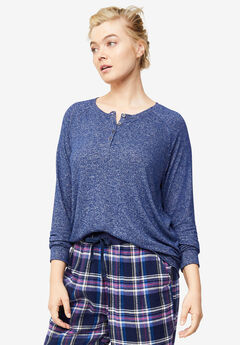 Henley Lounge Top,
