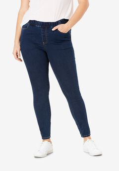 4-Pocket Stretch Jeggings by ellos®,
