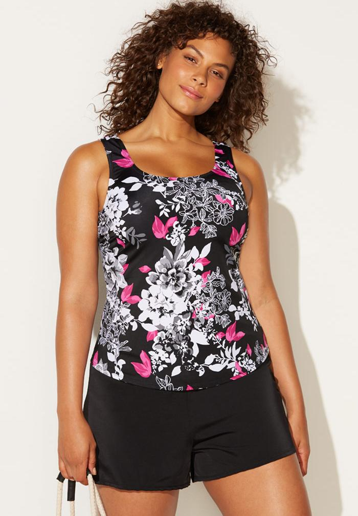 Classic Tankini Set with Short,